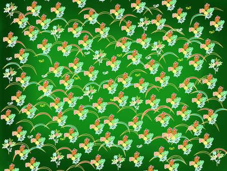 Japanese paper green
