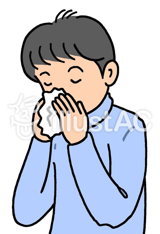 鼻炎.1のイラスト