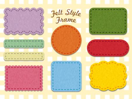 Felt_style_frame