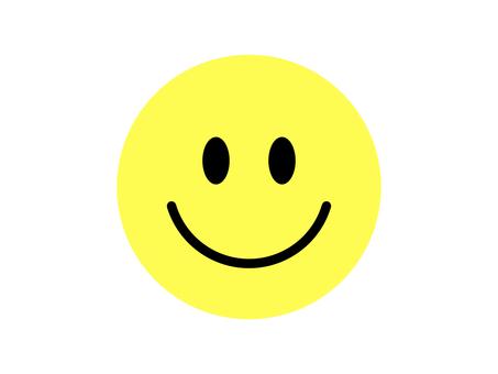 Niko-chan mark smile emoticon yellow
