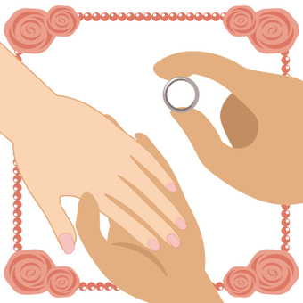 Marriage (where to put a ring)