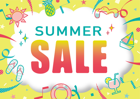 Solid three-dimensional frame _ sale summer A