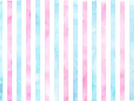 Watercolor tricolor