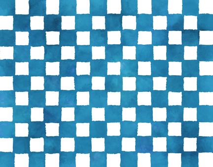 Watercolor checker 5