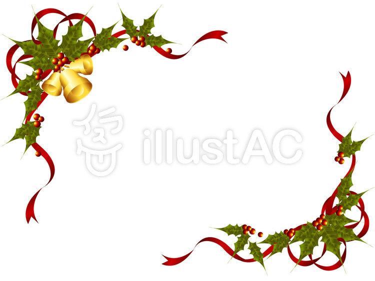 クリスマスフレームイラスト No 9015無料イラストならイラストac
