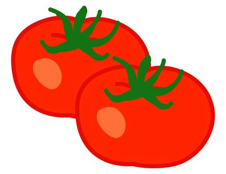 Ripe tomato 2