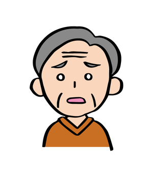 Troubled grandfather