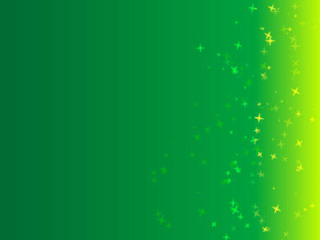 Frame (green gradation · star)