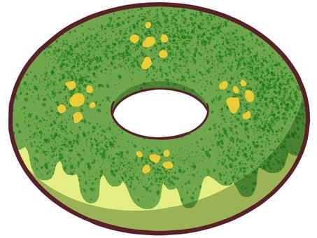 녹차 도넛