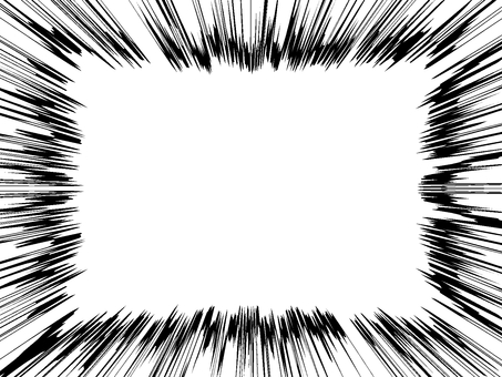 Comic style 08 white through the PNG