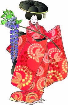 Japanese doll - Fujio girl