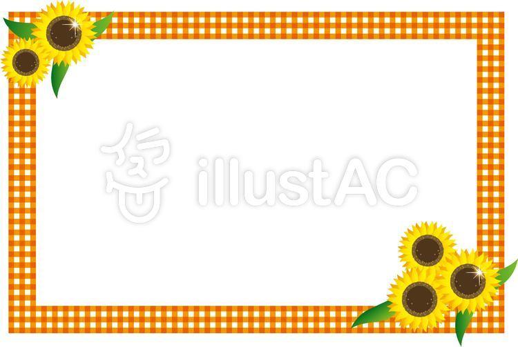 Imágenes prediseñadas gratis: marco de la flor agosto limítrofe ...
