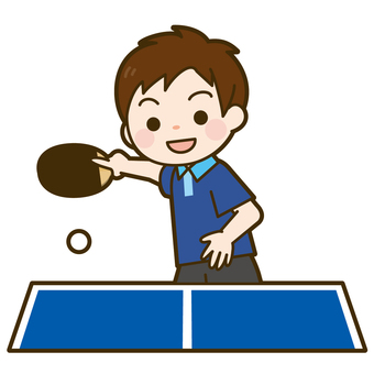 State of table tennis game (boys)