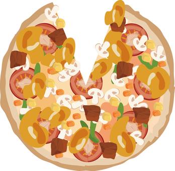 Pizza (Tabekake)