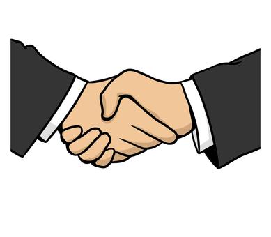 Handshake (business)