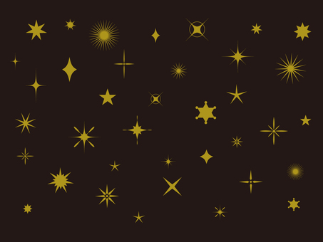 Assortment of stars