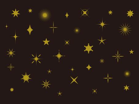 Surtido de estrellas