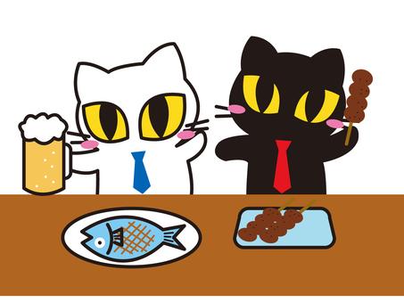 Cat banquet
