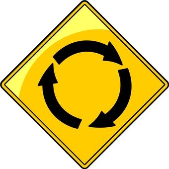 경고 표지판