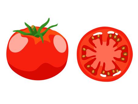 Ingredients _ Vegetable _ Tomato _ No Line