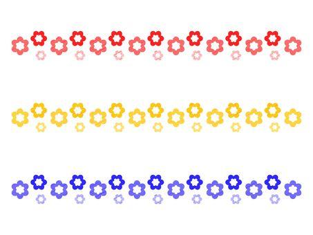 Flower / line material