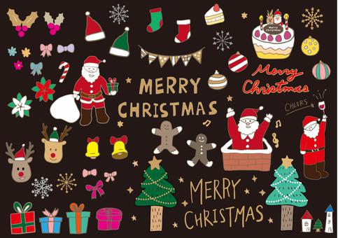 Handwritten Christmas set