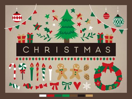クリスマス素材集3-2