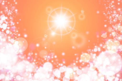 Fluffy glitter / gentle light