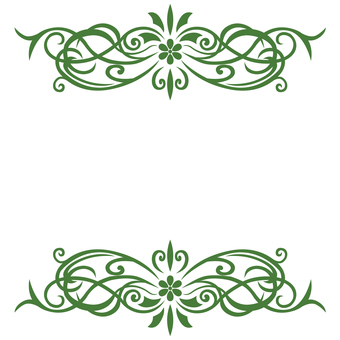 Art Nouveau Decoration 09 (Green)