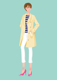 Women (spring clothes / trench coats)