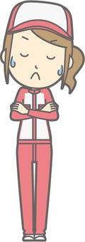 Mechanic woman - hmm - whole body