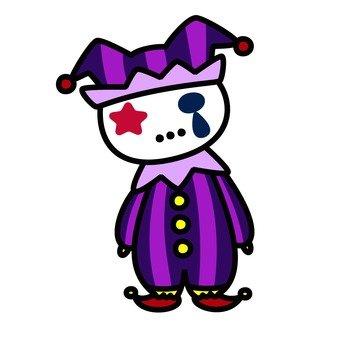 Sorrow clown