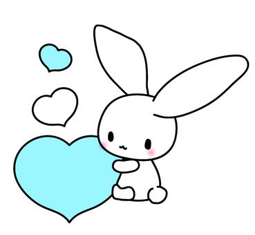 Heart Tokko Usagi (Blue)