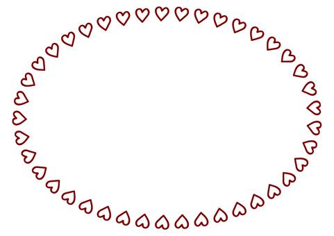 Round frame Heart frame 1