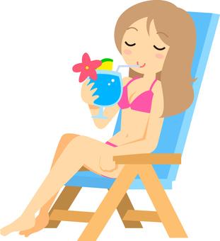 Summer / Tropical drink