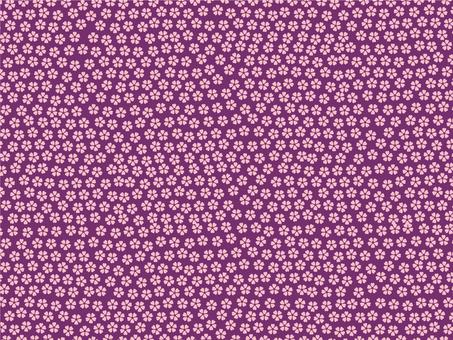 Kozakura pattern background (Kyoto purple color)