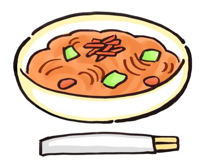 Fried noodles 2
