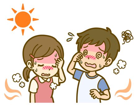 Men and women (children): A_heatstroke 01FS