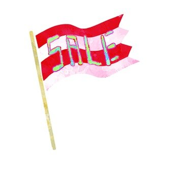 Flag of sale