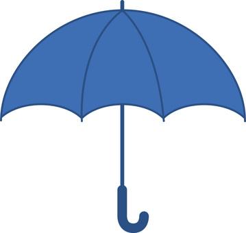 Umbrella (blue · blue)