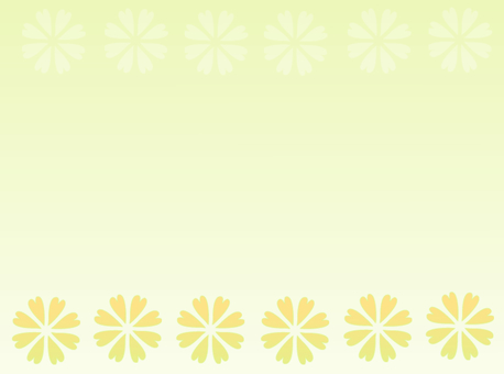 Background material · flower (yellow)
