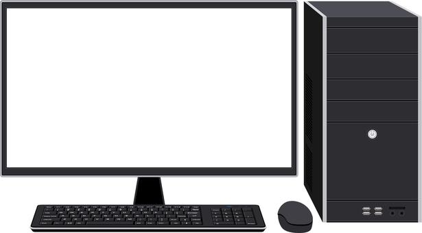 Desktop computer frame