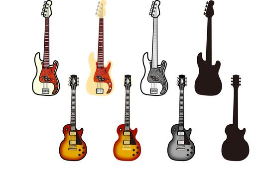 Guitar based illustration