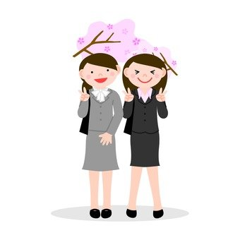 Women in two suit
