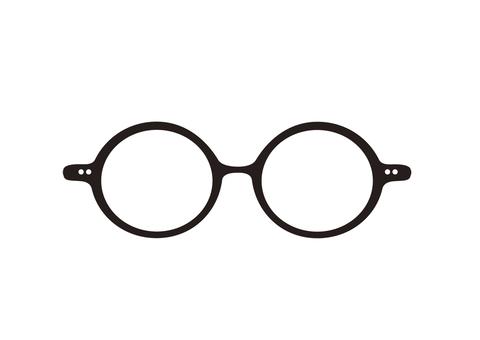 둥근 안경