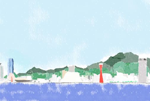 神戸風景(線無し)