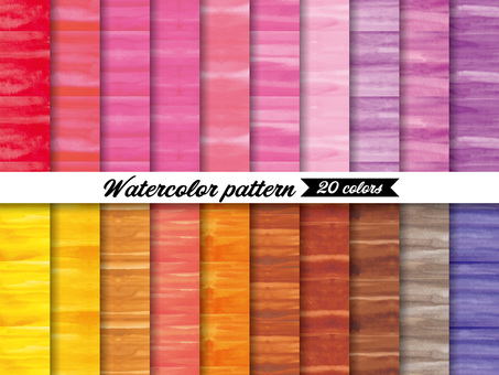 Brushed watercolor background pattern swatch 1