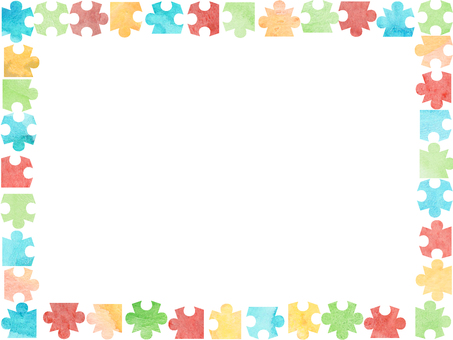 Jigsaw Puzzle Frame ③