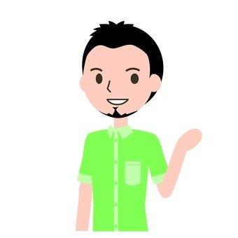 캐주얼 남성 1