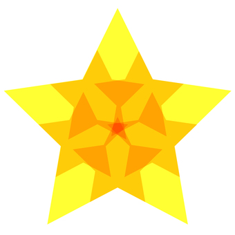 The star of the top